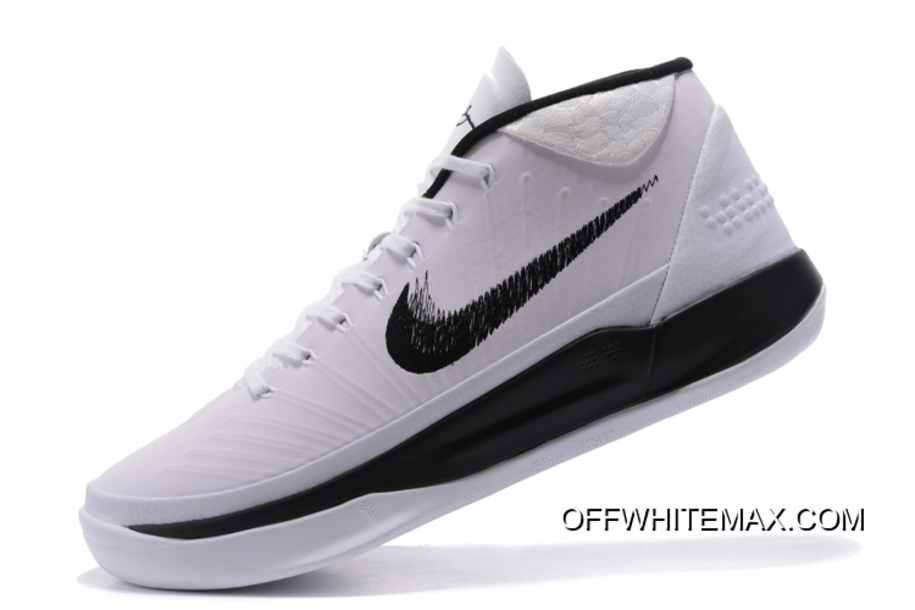 a0052a125d7 Nike Kobe AD Mid TB White And Black New Release