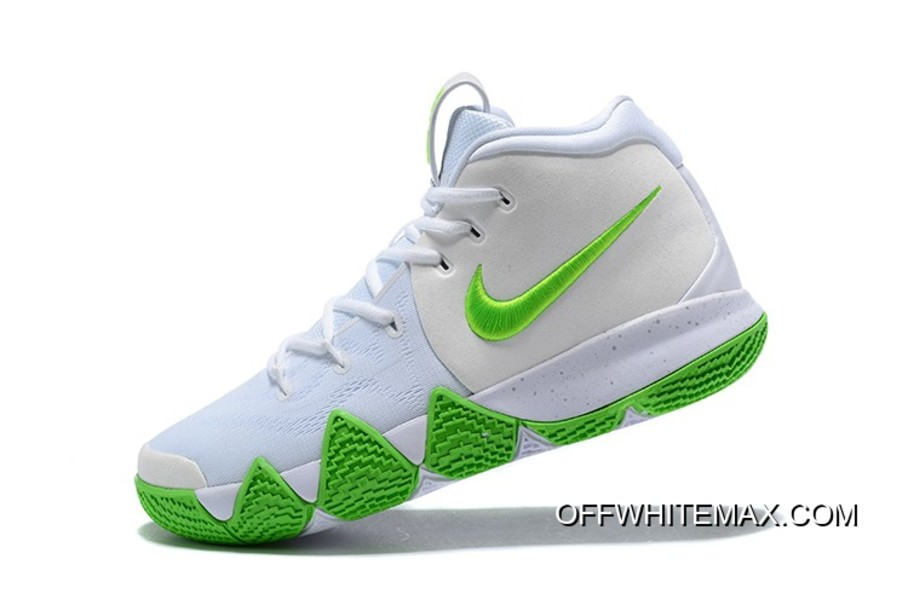sale retailer 8bf9a 11e34 Mountain Dew X Nike Kyrie 4 K.A.R.E. Kit White Green Top Deals