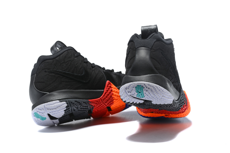 premium selection 32af4 f1973 Discount Nike Kyrie 4 'Year Of The Monkey' Black And Anthracite