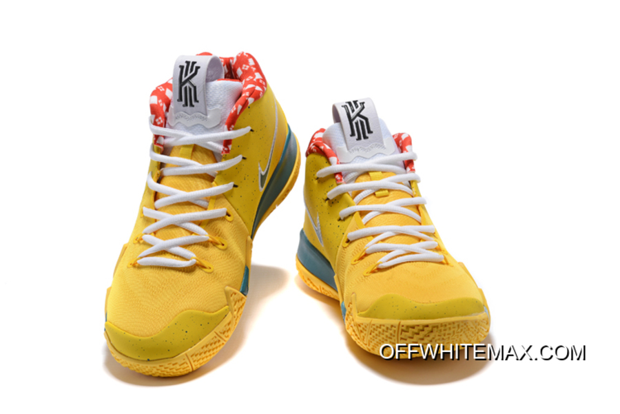 "more photos 940c8 58032 Discount Nike Kyrie 4 ""Yellow Lobster"" PE, Price: $87.19 - OFF-WHITE ..."