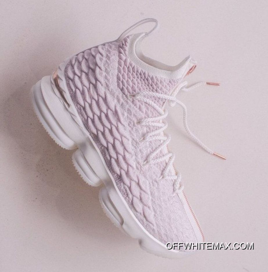 54d90891def Latest Christmas Wars On Foot Kith Nike LeBron X 15 Rose Gold