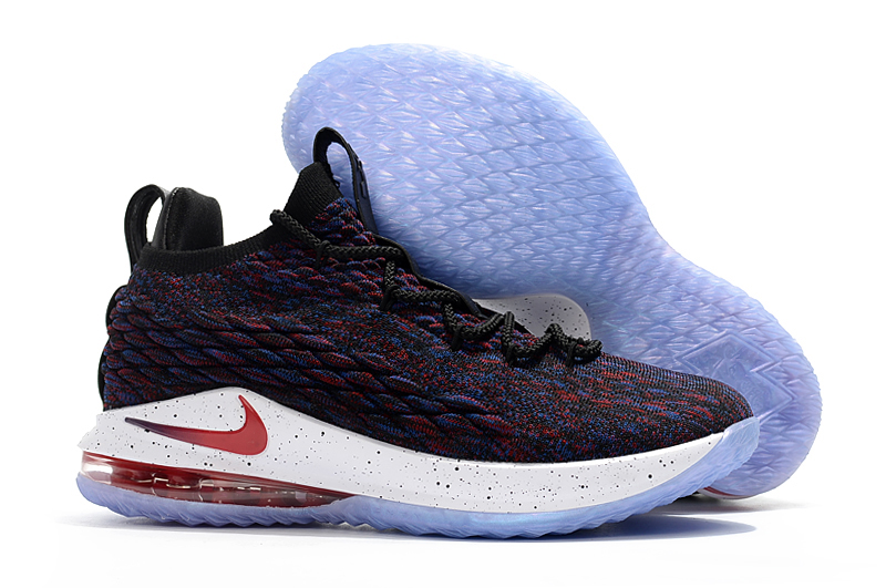 f24340068c7 Nike LeBron 15 Low Multicolor University Red-Black-White Latest ...