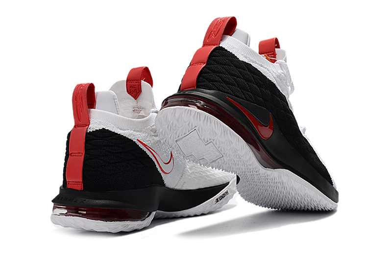 423ff1f29a9 Nike LeBron 15 Low Black White Red For Sale