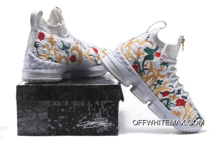 """0470db233ef KITH X Nike LeBron 15 """"Floral"""" New Style"""