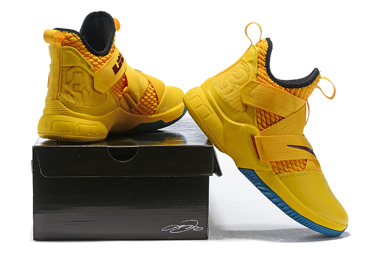 f10fbe5d5c6 New Year Deals Nike LeBron Soldier 12 'Cavs' Yellow Black, Price ...