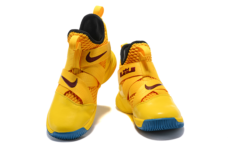 sports shoes b7fe6 2366a New Year Deals Nike LeBron Soldier 12 'Cavs' Yellow Black