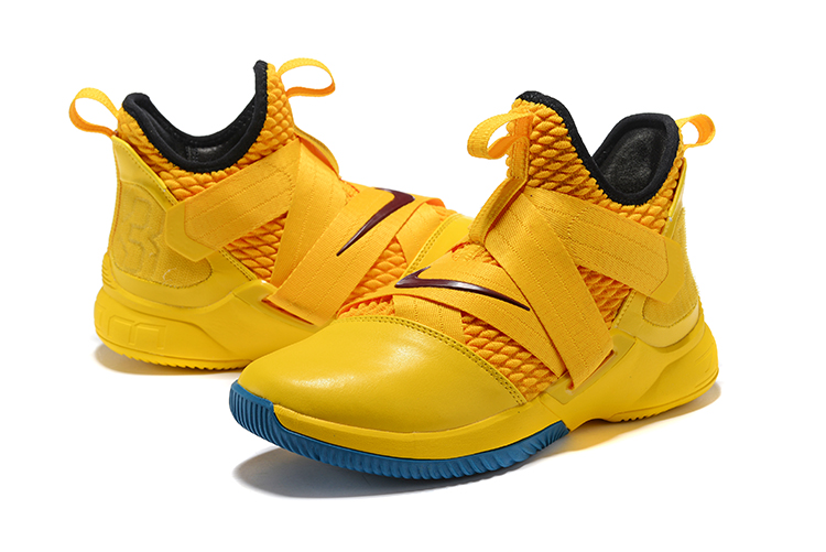 fac8a2fc903 New Year Deals Nike LeBron Soldier 12  Cavs  Yellow Black