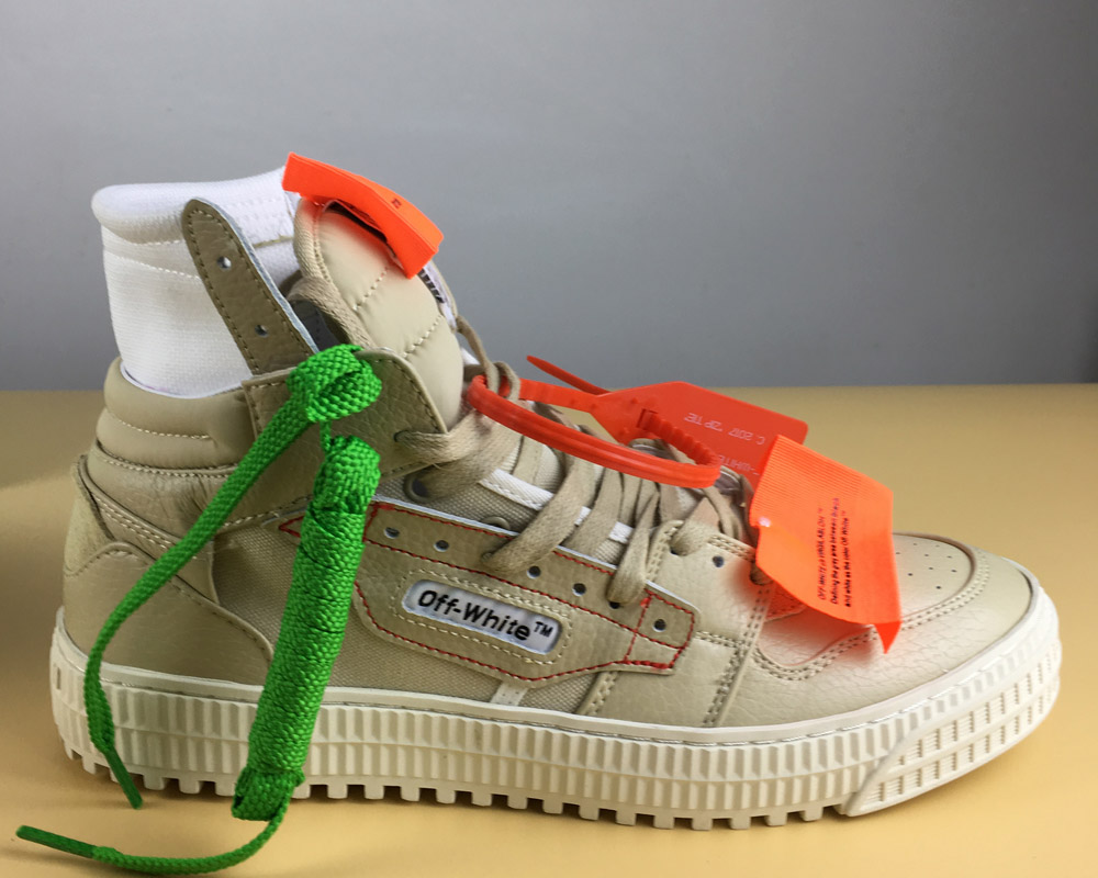 """08e4d78728147 New Release VIRGIL ABLOH X Off-White  Low  High-Tops 3.0 """"Brown ..."""