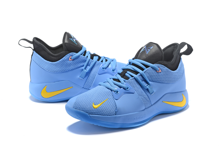 c21899c77c0 Nike PG 2 Light Blue And Yellow Super Deals