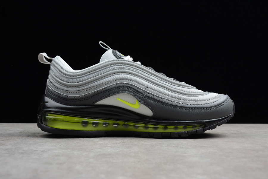 sports shoes dc3c1 66467 For Sale Nike Air Max 97  Neon  Dark Grey Volt
