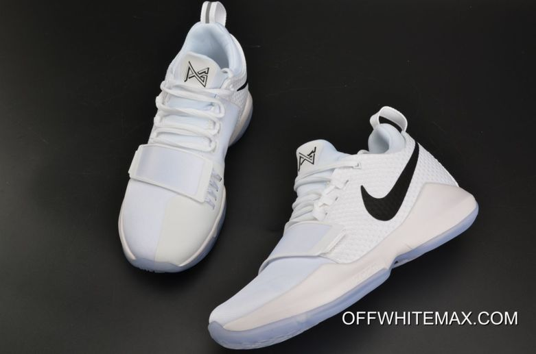 c472ef17d5ab Nike PG 1  Checkmate  White And Black-Chrome Latest