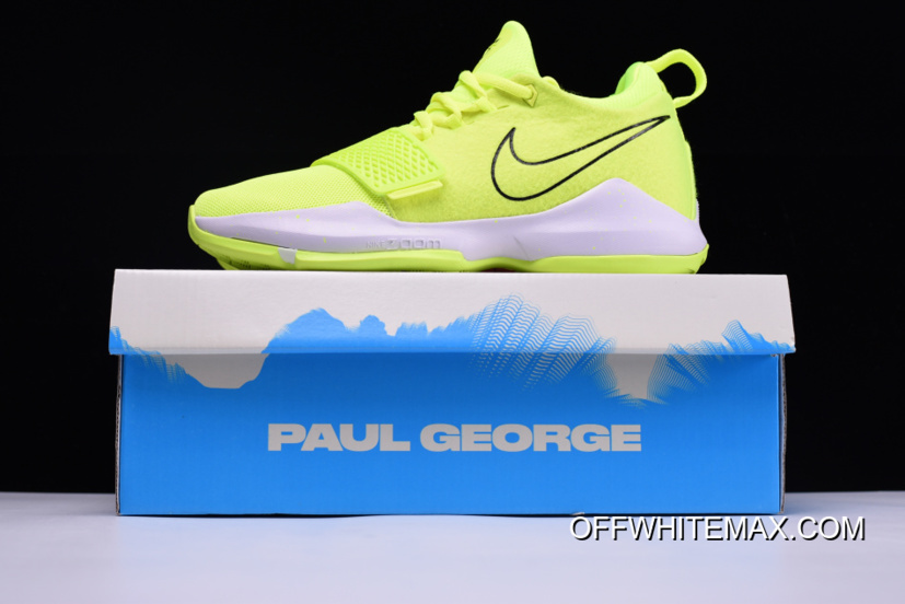 competitive price eb46d ad441 Super Deals Nike PG 1 Neon Volt And White