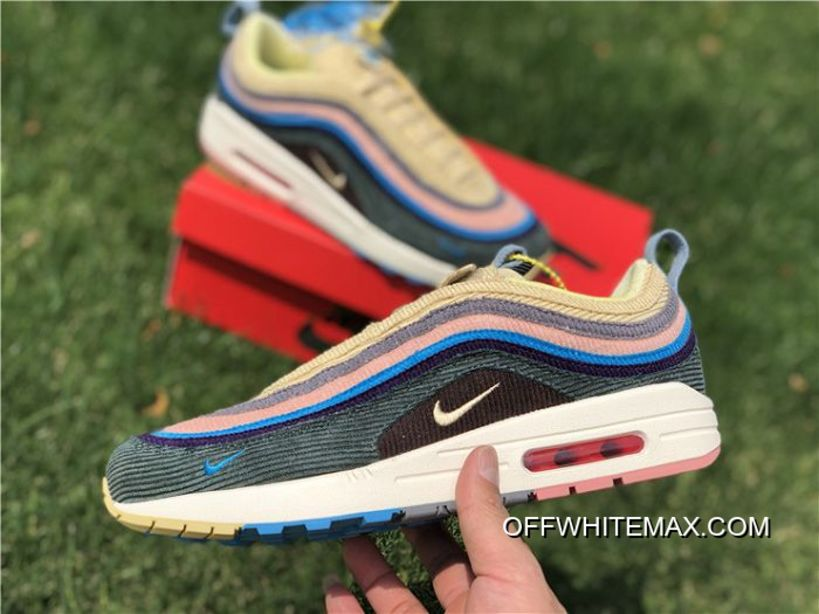 bc8ced9c0e Latest Women Sean Wotherspoon Nike Air Max 97 Hybrid SKU:85453-238 ...